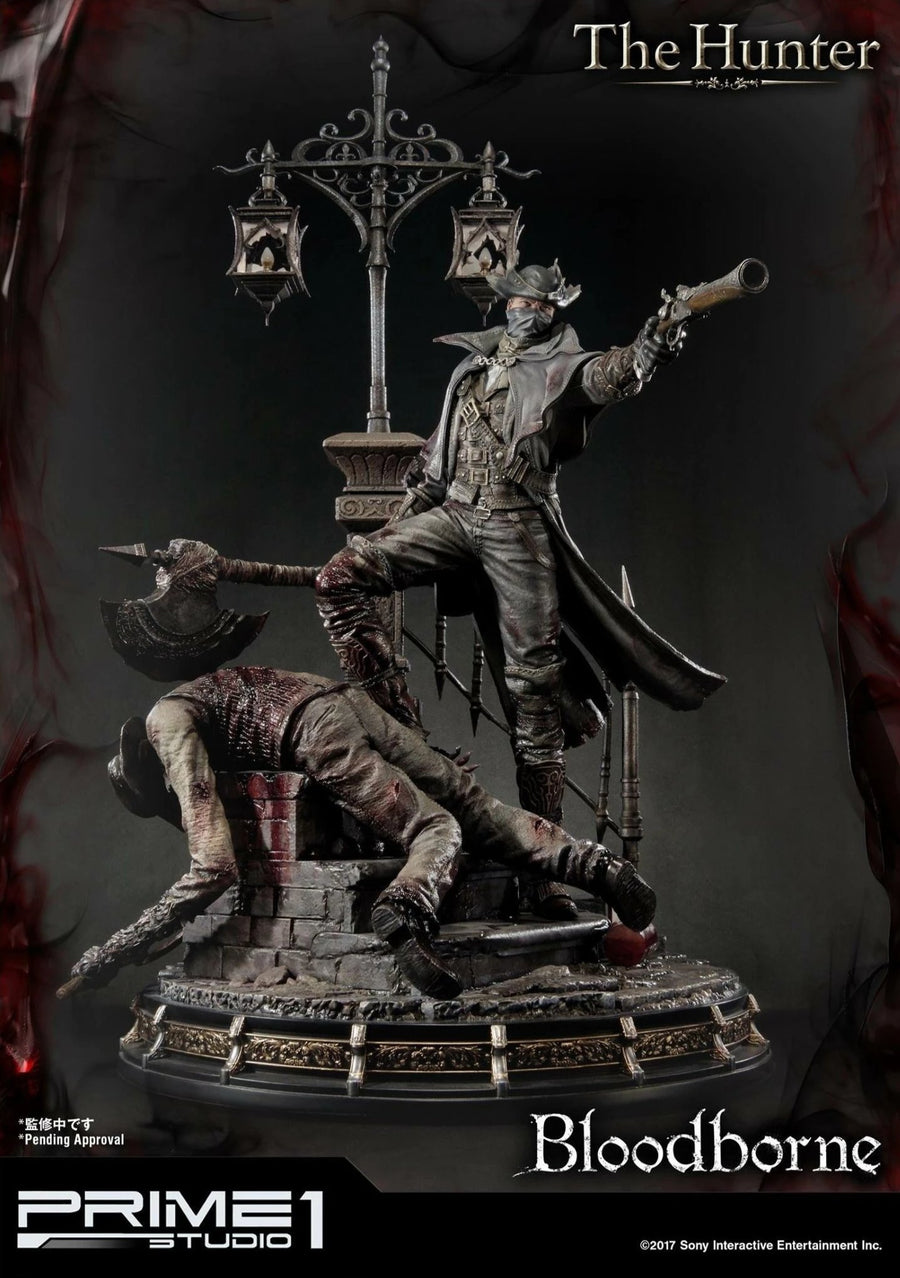 Bloodborne: The Old Hunters - EXCLUSIVE The Hunter 1/4 Scale Statue