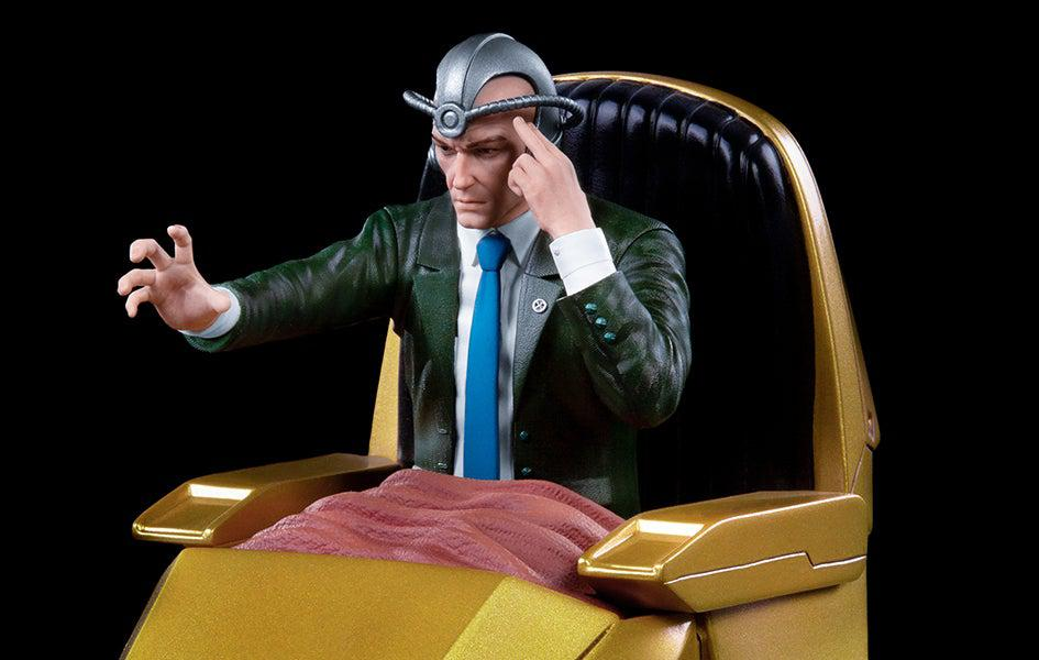 Marvel Comics Battle Diorama Series Professor X 1/10 Scale Statue