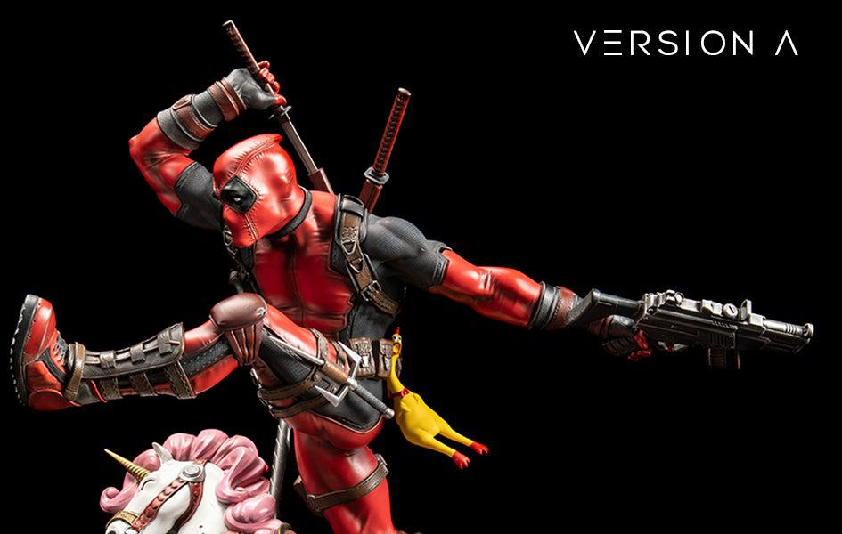 Deadpool Version A 1/4 Scale Statue