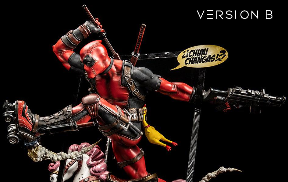 Deadpool Version B 1/4 Scale Statue