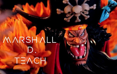 Marshall D. Teach 1/6 Scale Premium Statue