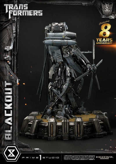 Transformers Blackout Museum Masterline Statue