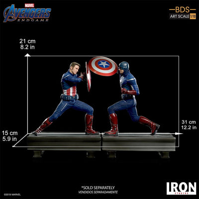 Captain America 2012 BDS Art Scale Statue