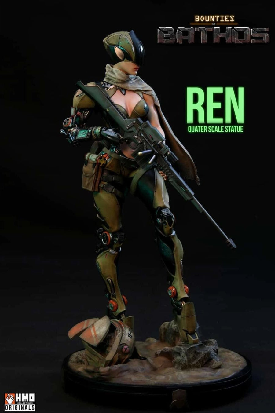 Bounties Of Bathos: REN 1/4 Scale Statue