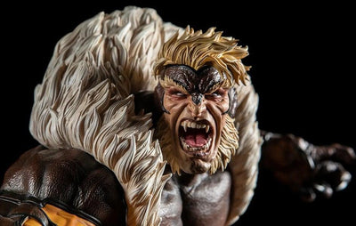 Sabretooth 1/4 Scale Statue