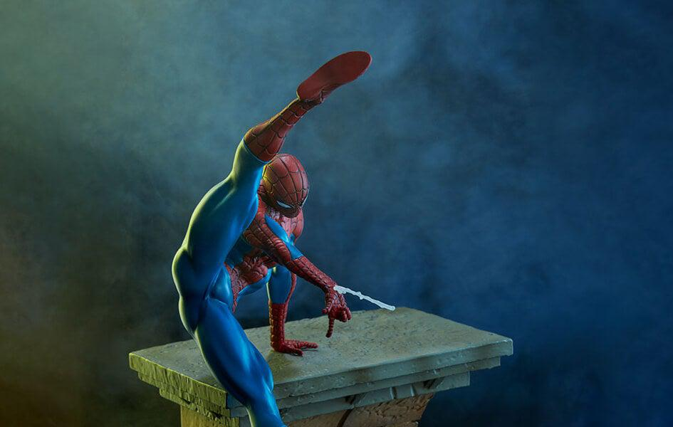 Marvel Battle Diorama Series Spider-Man 1/10 Scale Statue by Iron Studios
