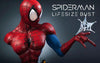 Spiderman BLUE/RED 1:1 Lifesize Bust