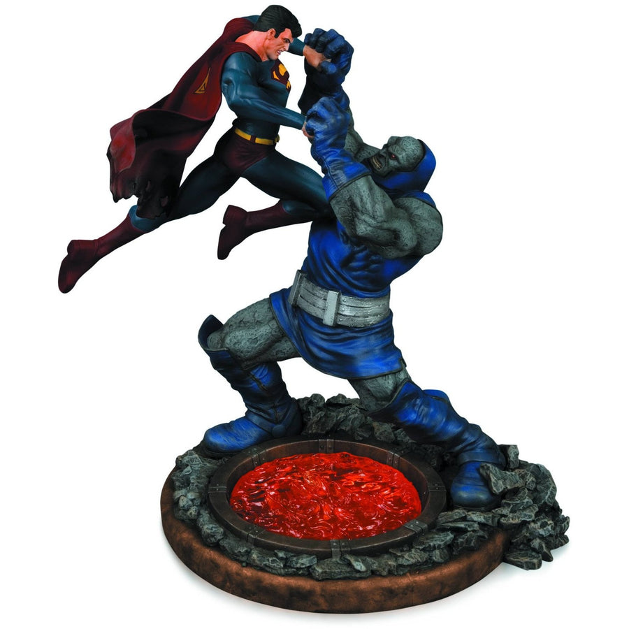 SUPERMAN VS DARKSEID 1/6 Scale Statue 2ND ED by DC Collectibles