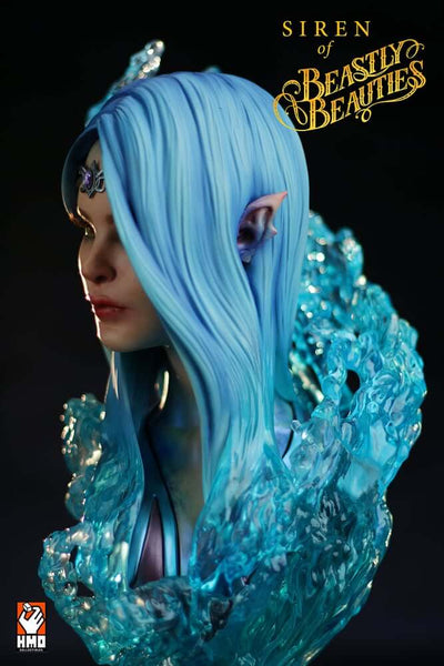 Siren 1/2 Scale Bust by HMO ( Hand Made Object )
