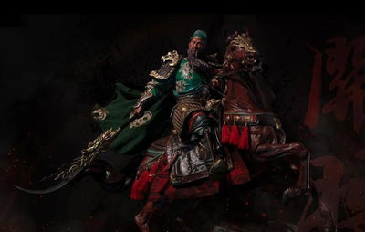 Three Kingdoms: Five Tiger Generals series - 1/4th scale Guan Yu Statue Deluxe Edition