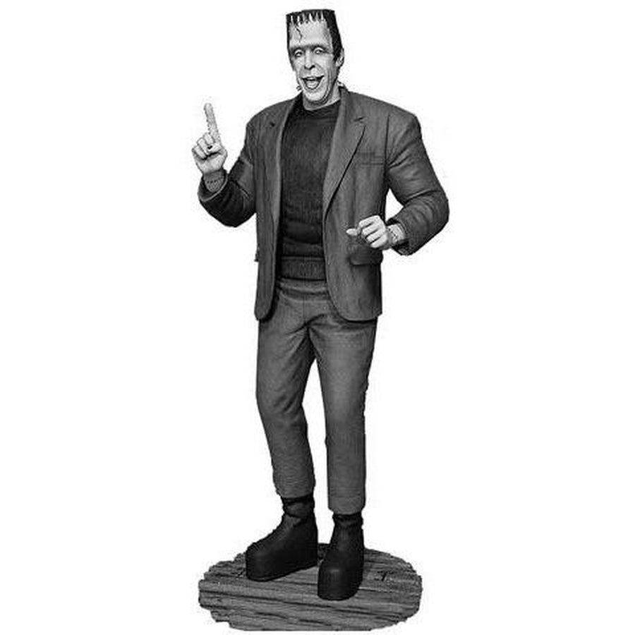 The Munsters: Herman Munster Black & white Maquette Statue by Tweeterhead