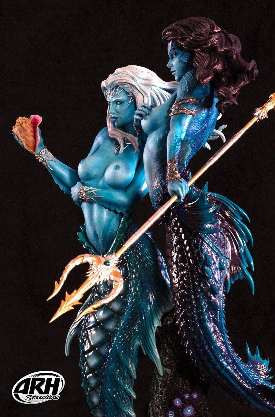 Twin Mermaids 1/4 Scale Statue ARH Studios