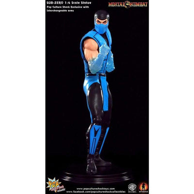 Mortal Kombat Klassics: SUB-ZERO 1/4 Scale Statue PCS Exclusive by Pop Culture Shock