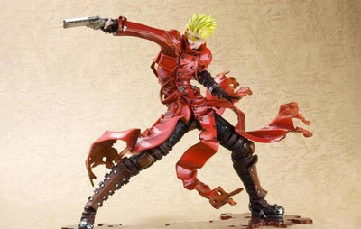 TRIGUN BADLANDS RUMBLE  Vash The Stampede ARTFX J STATUE by Kotobukiya