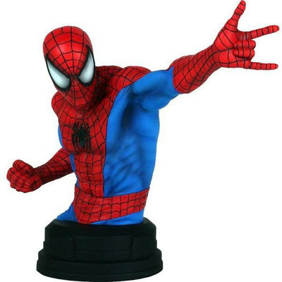 Marvel Amazing Spider-Man Red & Blue Mini Bust by Gentle Giant