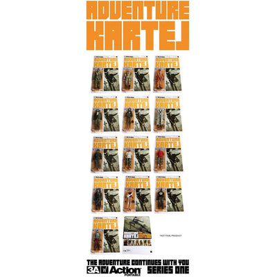 Adventure Kartel 1/12th Scale Action Portable Retail SET AK by ThreeA
