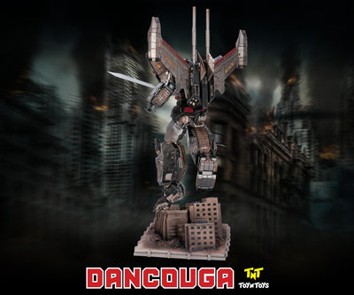 Dancouga Super Beast Machine God Statue