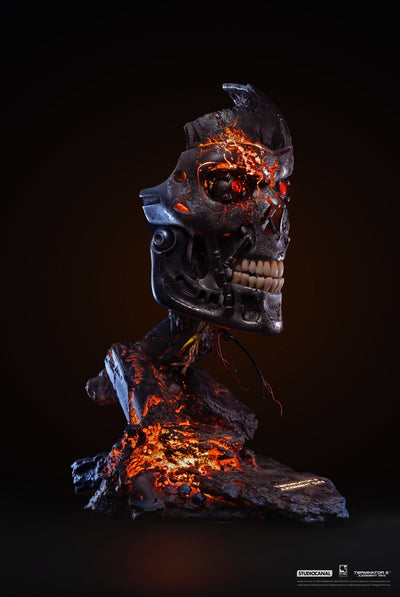 Terminator 2 T-800 Battle Damaged Bust