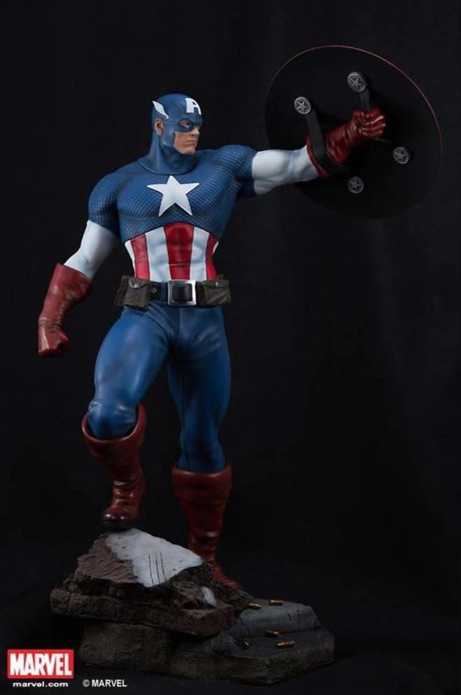 Captain America 1/4 Scale Statue (Comics Version)