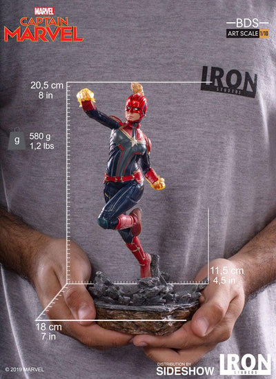 Captain Marvel BDS 1/10 Art Scale Statue
