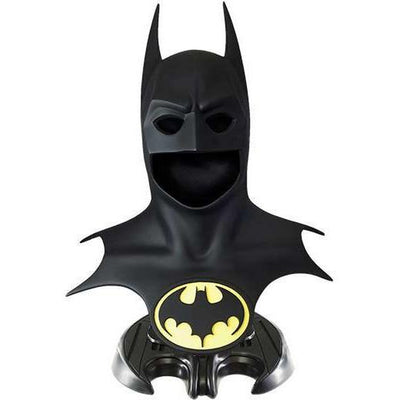 BATMAN (1989) COWL PROP REPLICA by Hollywood Collectibles Group