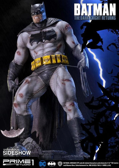 The Dark Knight Returns Batman 1:3 Scale Statue EXCLUSIVE by Sideshow & Prime 1