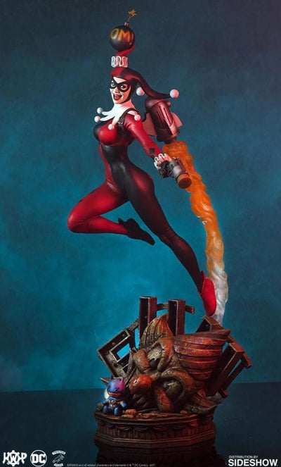 Harley Quinn Super Powers Maquette Statue by Tweeterhead