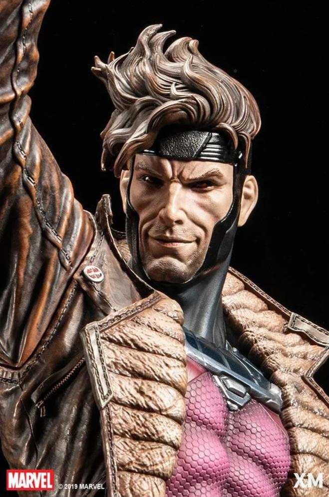 Gambit 1/4 Scale Statue EXCLUSIVE