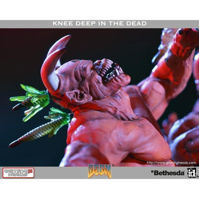 Doom: Knee Deep In The Dead Statue Diorama by Gaming Heads
