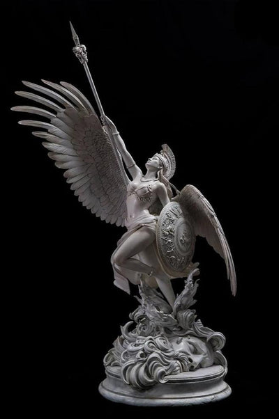 Athena 1/4 Scale Statue - Marble (Gray) Version