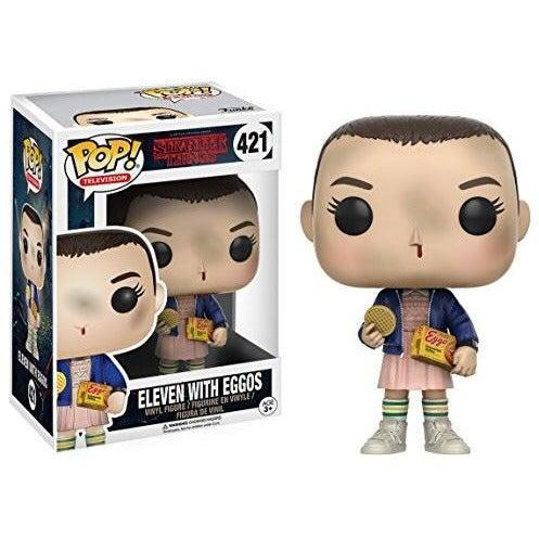 Stranger Things Eleven 11 With Eggos Pop! Vinyl Figure by Funko