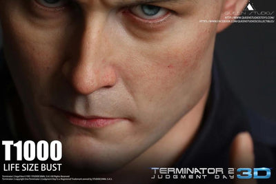 Terminator 2: Judgement Day T-1000 Life Size Bust