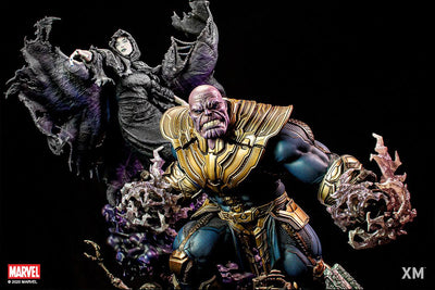 Thanos & Lady Death 1/4 Statue - EXCLUSIVE