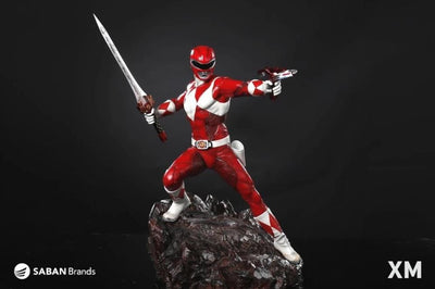Mighty Morphin Power Rangers RED RANGER 1/4 Scale Statue by XM Studios