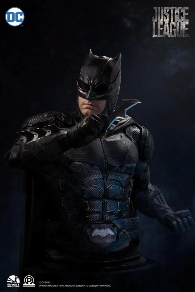 Justice League: Batman Lifesize 1:1 Bust