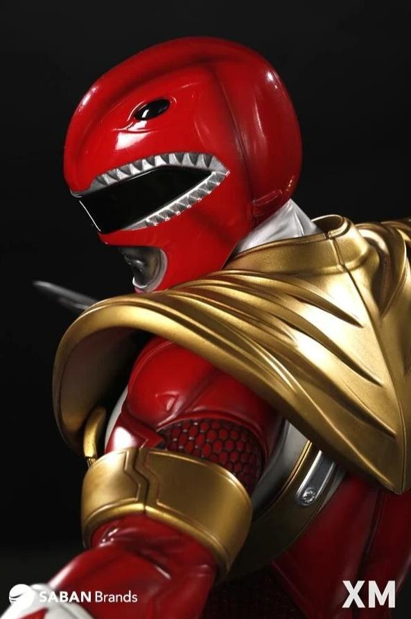 987c89bd4 Mighty Morphin Power Rangers RED RANGER 1/4 Scale Statue by XM Studios