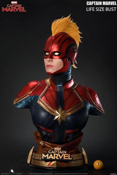 Captain Marvel 1:1 Scale Lifesize Bust
