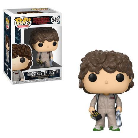 Stranger Things Ghostbusters Dustin Funko Pop! Television #549