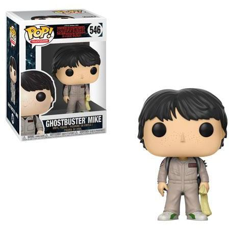 Stranger Things Ghostbusters MIKE Funko Pop! Television #546