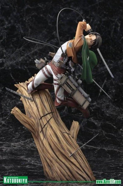 Shingeki no Kyojin (Attack On Titan) LEVI ArtFx J Statue Figure by Kotobukiya