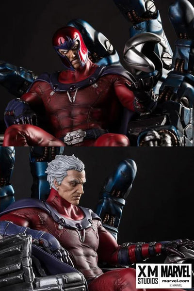 MAGNETO 1/4 Scale Statue (Comics Version) by XM STUDIOS - DISPLAYED