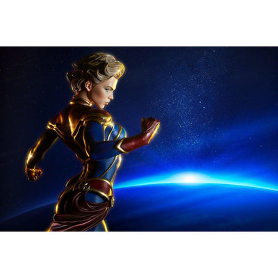 Captain Marvel 1/4 Scale Premium Format Statue by Sideshow Collectibles