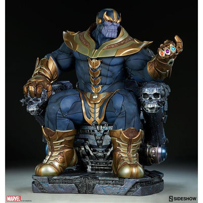 Thanos On Throne Maquette Statue by Sideshow Collectibles