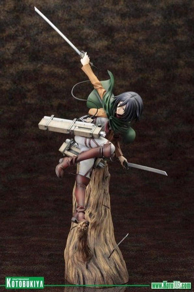 Shingeki no Kyojin (Attack On Titan) MIKASA ACKERMAN ArtFx J Statue Figure by Kotobukiya
