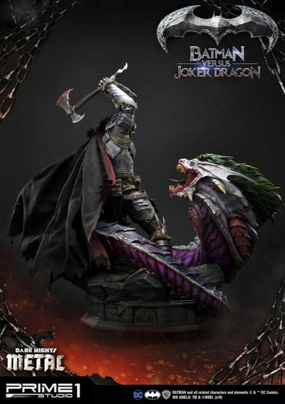 Museum Masterline Batman Versus Joker Dragon DELUXE