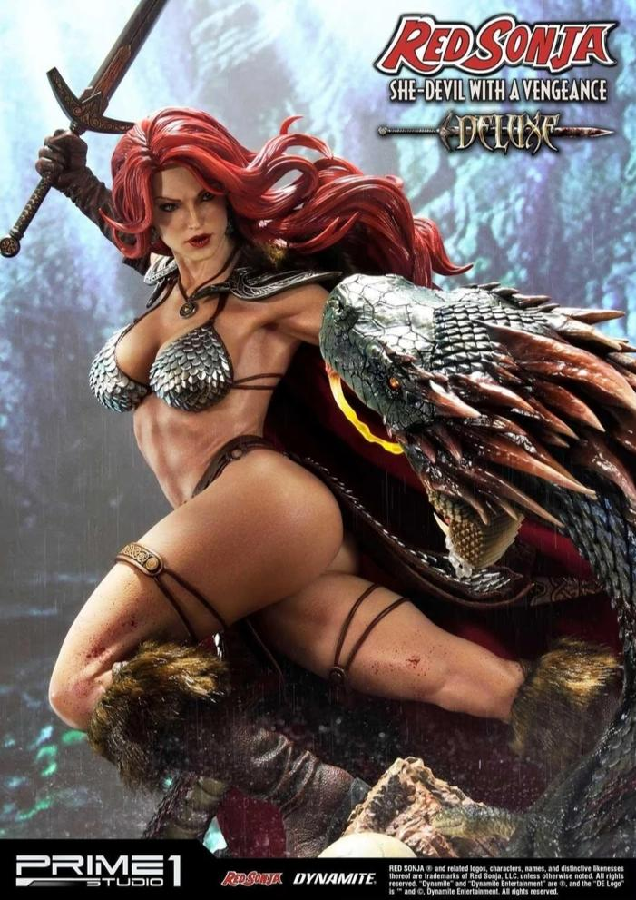 Museum Masterline Red Sonja: She-Devil with a Vengeance DELUXE