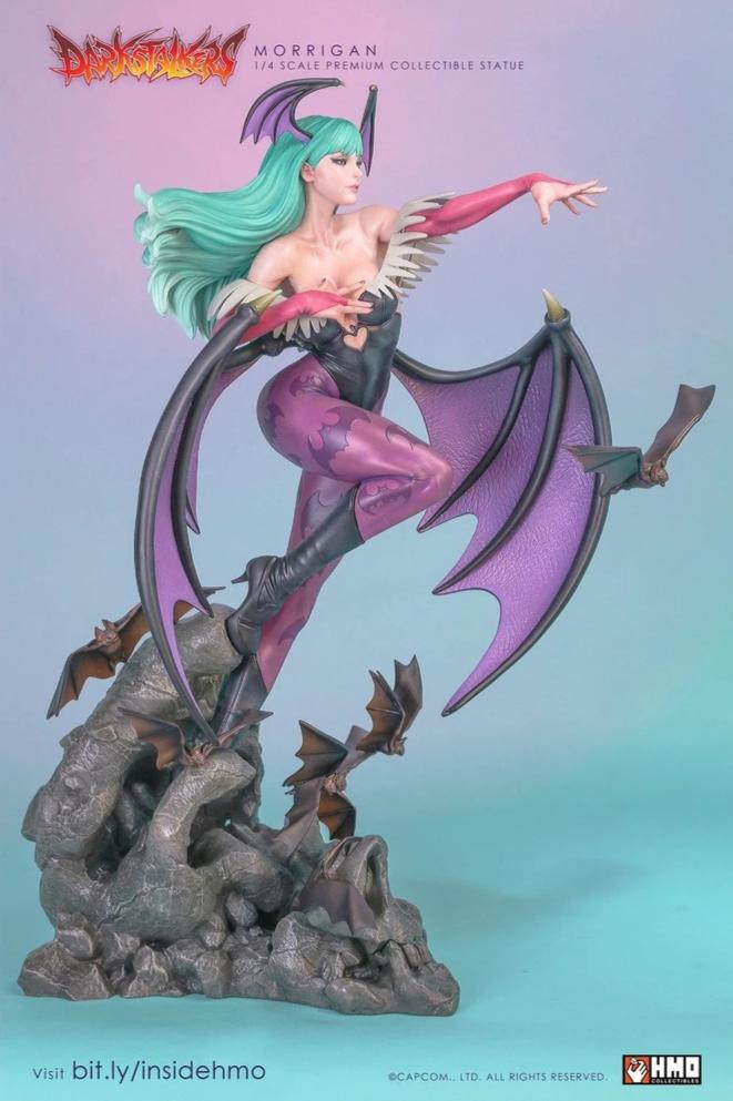 Morrigan 1/4 Scale Statue by HMO
