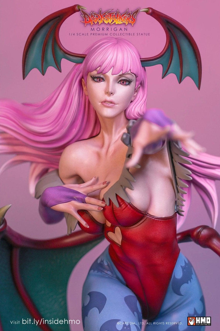 Morrigan 1/4 Scale Statue Player 2 Variant VERSION by HMO
