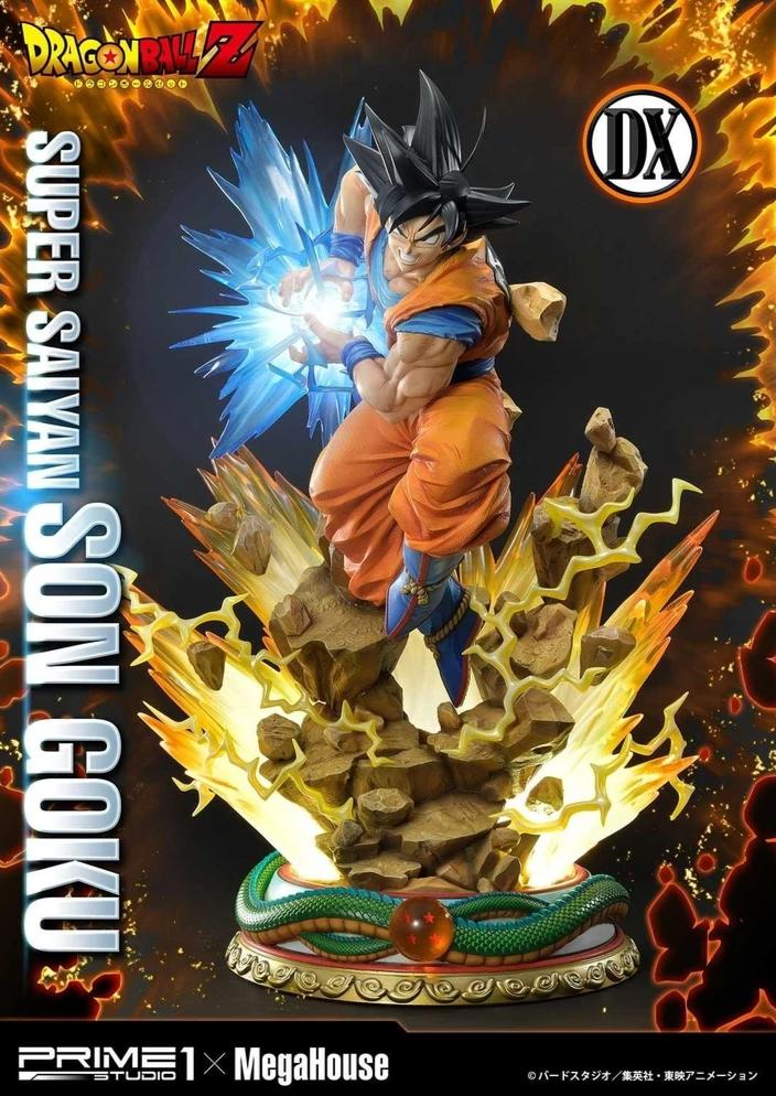 Dragon Ball Z - Super Saiyan Son Goku 1/4 Scale Statue - DELUXE