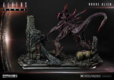 Aliens (Comics) Rogue Alien Battle Diorama